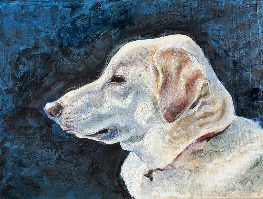 Weasley oil painting